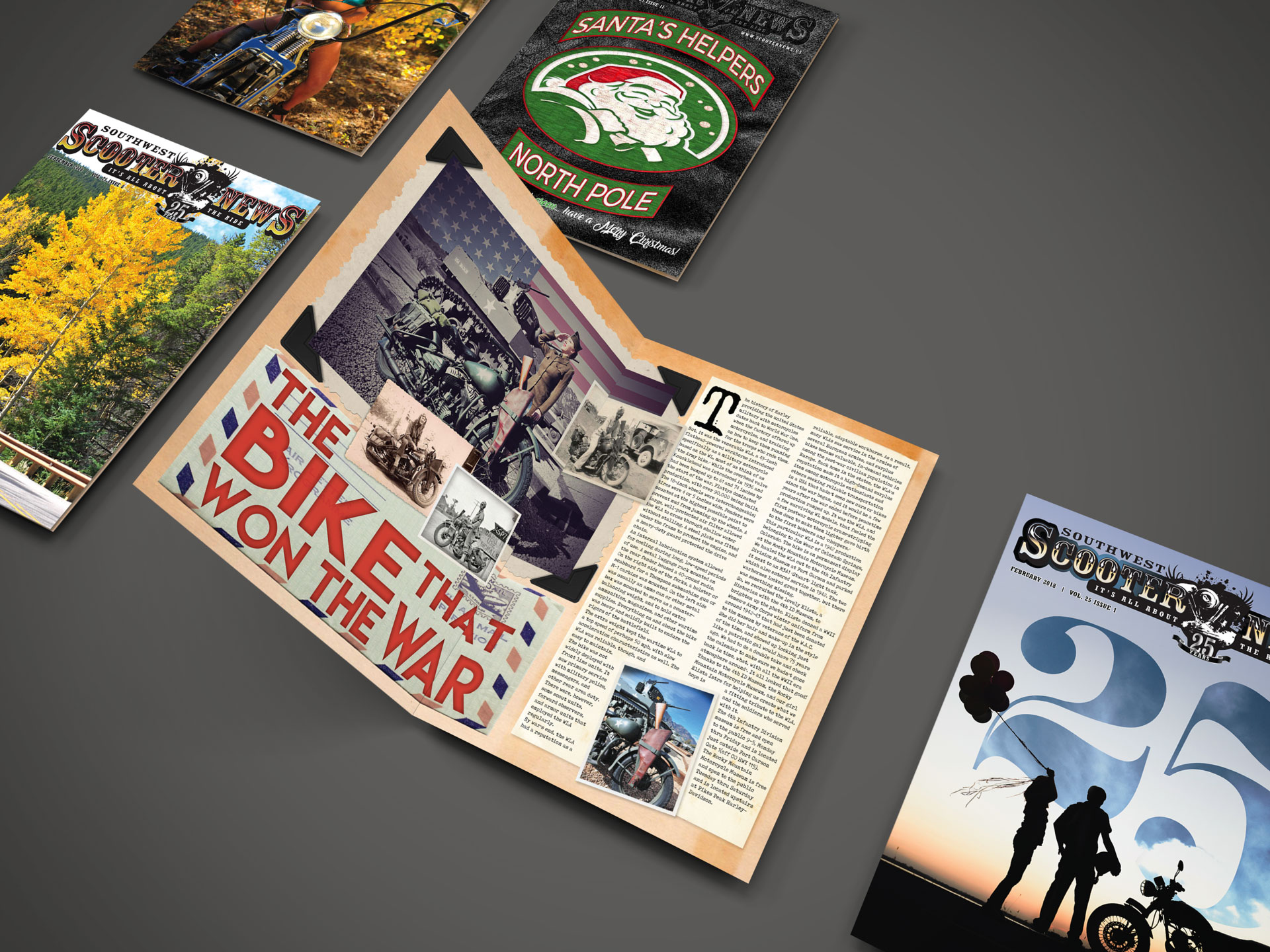 Scooter News Cover and Feature