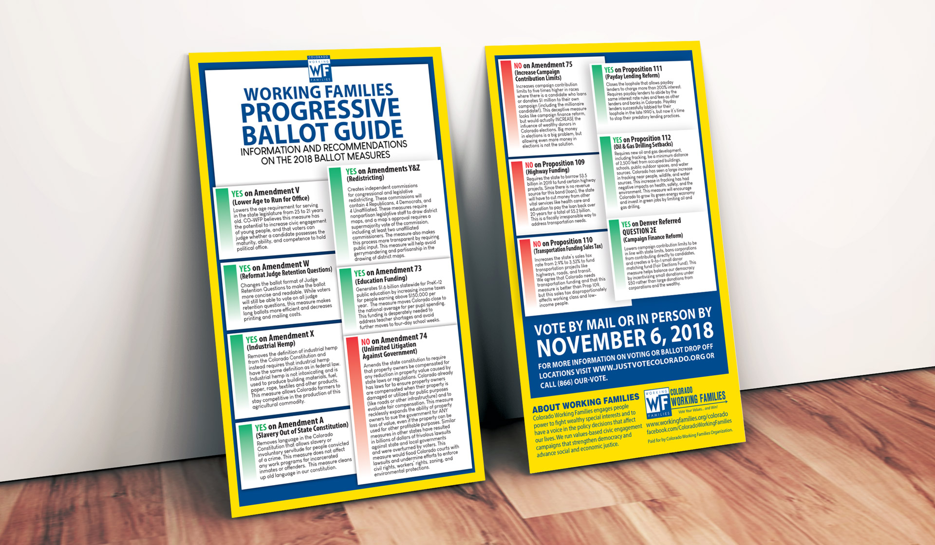 Working Families Party 2018 Voting Guide